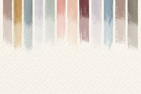 Pastel acrylic abstract background vector