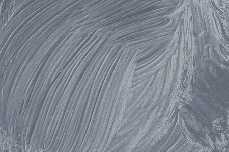 Silver oil paint brushstroke textured background