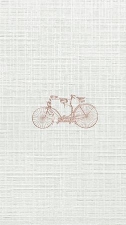 Vintage two wheel bicycle engraving 스톡 콘텐츠
