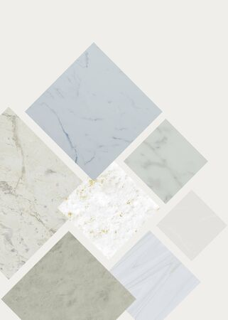 Marble textured square on a background