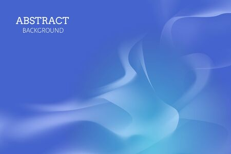 Blue abstract background design, vector illustration.