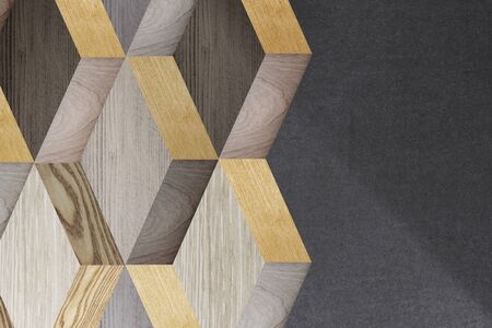 Modern textured wood background vector Фото со стока