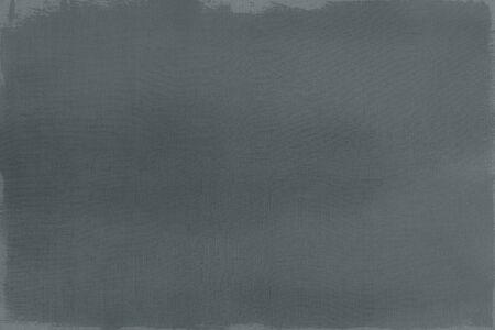 Dark green paint on a canvas textured background