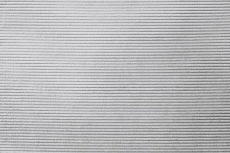 Gray corduroy fabric textured background Stock Photo
