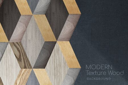 Modern textured wood background vector Stock Photo