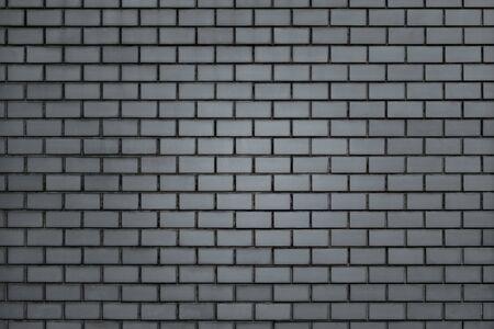 Gray brick wall textured background 스톡 콘텐츠