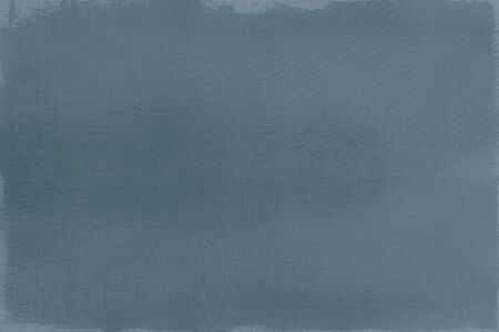 Blue paint on a canvas textured background