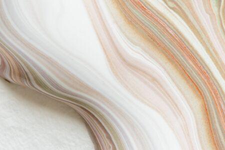 Colorful fluid acrylic paint vector