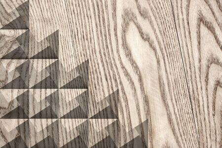 Modern wooden texture background design Stock Photo