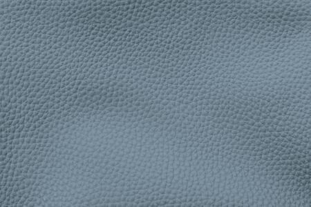 Blue artificial leather textured background Archivio Fotografico - 125497628