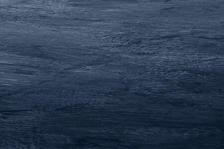 Fond texturé de coup de pinceau de peinture à l'huile bleu Banque d'images