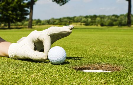 easy: golf Stock Photo