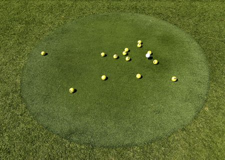 Golf Green Stock Photo - 3453695