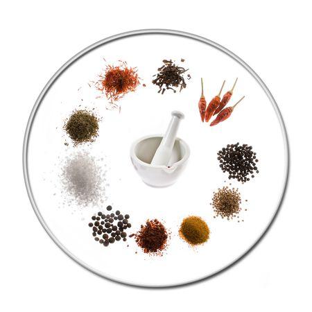 dried spice: especias