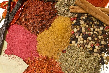 dry food: Spices