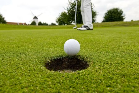 teen golf: Jugador de golf
