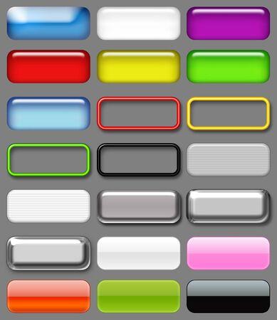 Button Set Фото со стока
