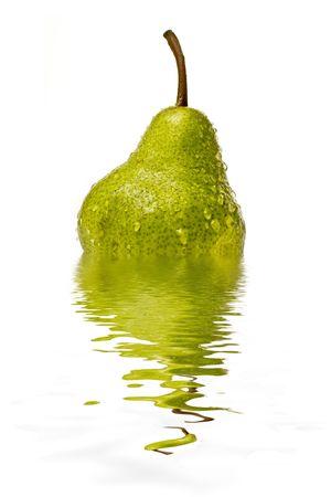 heartiness: Pear Stock Photo