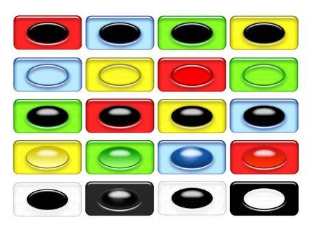 Icons SET 25 Stock Photo - 3595359