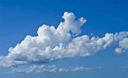 beautiful blue sky panorama Stock Photo - 3595218