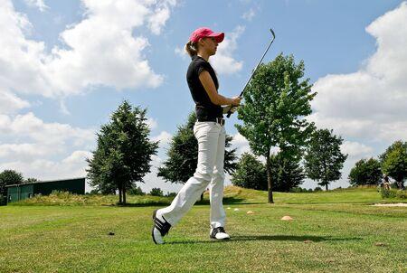 teen golf: Golfplayer