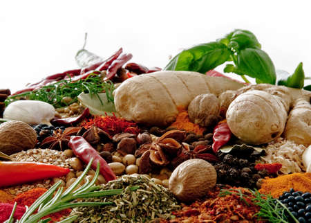 soja: Spices and herbs
