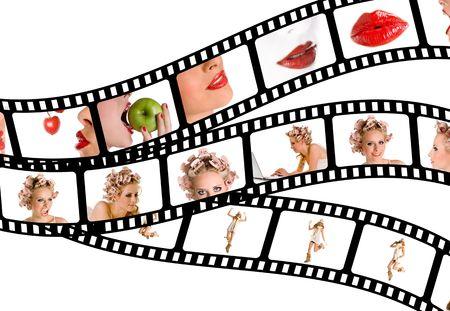 filmstrip beauty photo