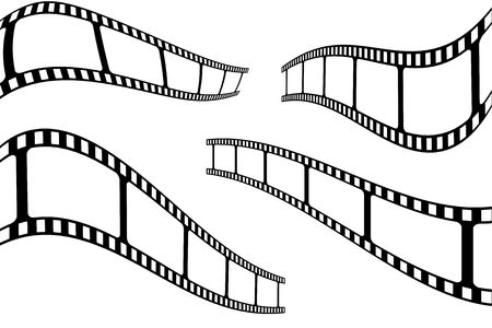 plate camera: Filmstrip Stock Photo