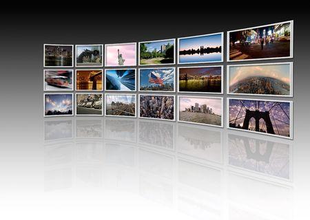 ny: NY - Videowall