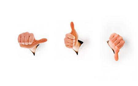 Gestures of hands Stock Photo - 6742563