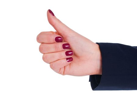 hand with thumb up Stock Photo - 6742569