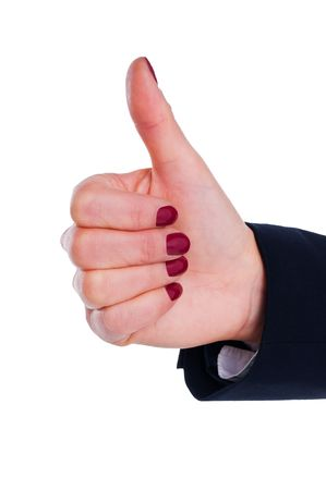 hand with thumb up Stock Photo - 6742570