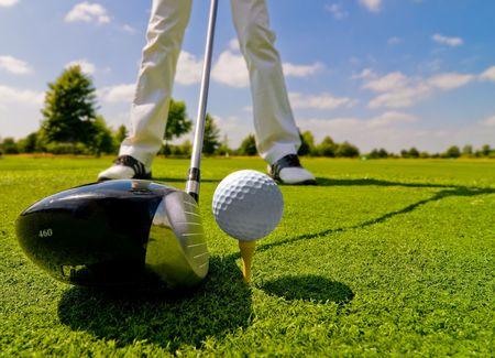 Golf player Stock Photo - 6742630
