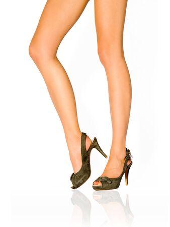 Beautiful female legs Stock Photo - 6902225