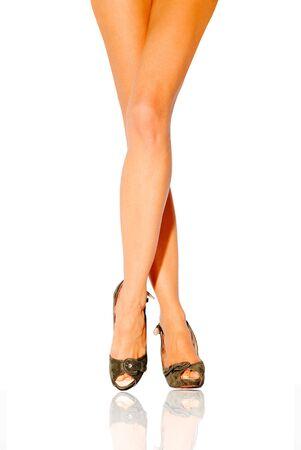 Beautiful female legs Stock Photo - 6902228
