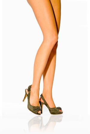 Hermosas piernas femeninas  Foto de archivo - 6902229