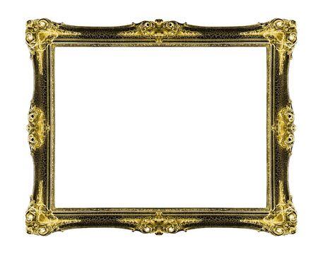 old picture frame: old antique  frame