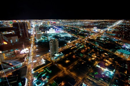 Las Vegas Strip at Night photo