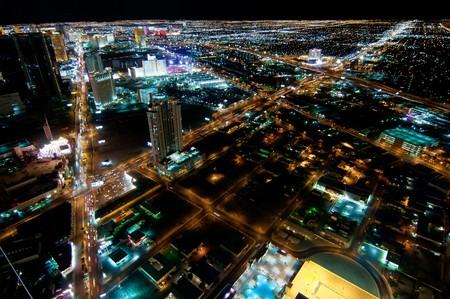 wedding night: Las Vegas Strip at Night
