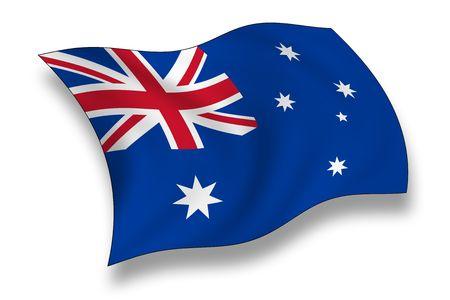 red kangaroo: Flag of Australia