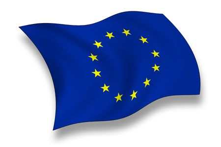 european union: Flag of European  Union