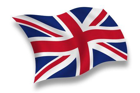 Briten: Flagge von Gro�britannien
