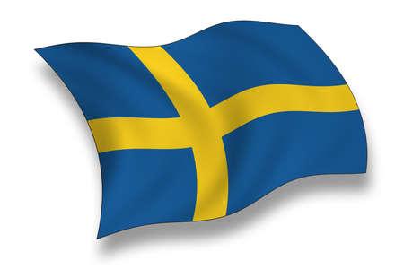 Flag of Sweden photo