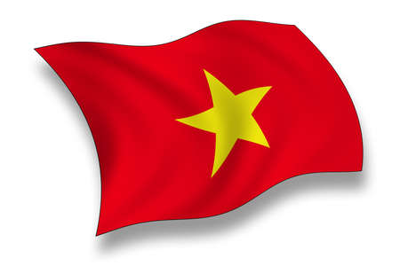 Flag of Vietnam photo