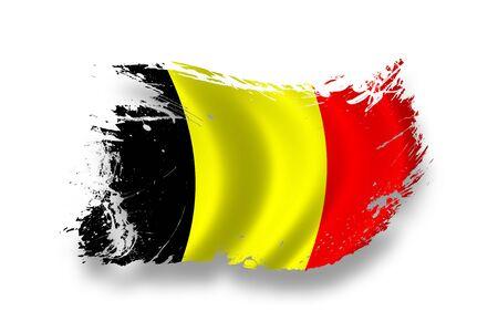 belgium: Flag of Belgium Stock Photo