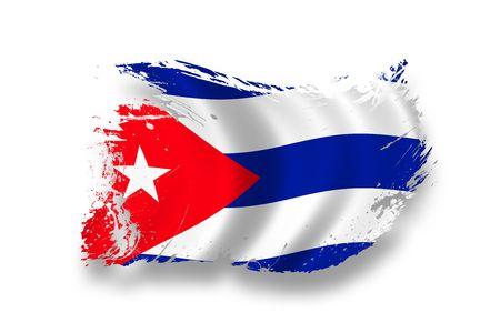 havana: Flag of Cuba