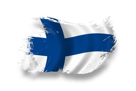 Flag of Finland photo