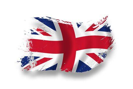 drapeau angleterre: Drapeau de la Grande Bretagne  Banque d'images