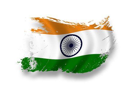 Flag of India Stock Photo - 7734309
