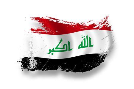 iraq: Flag of Iraq